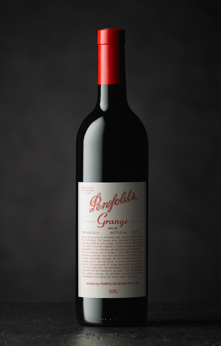 The Penfolds Collection Grange 2015 Beauty