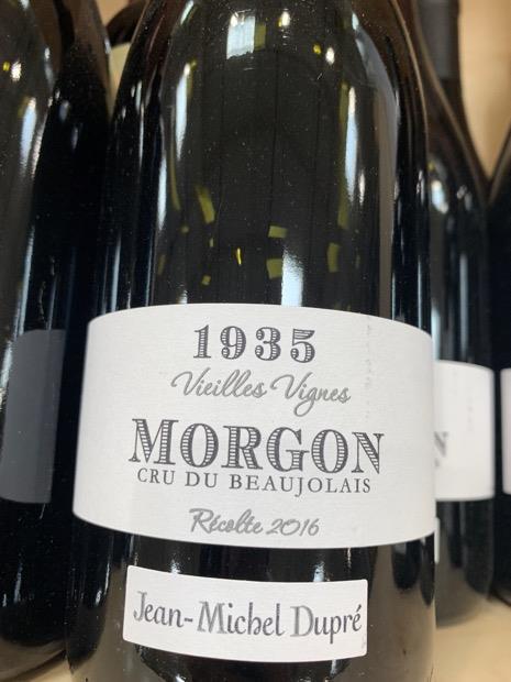 Morgon 1935 Vieilles Vignes