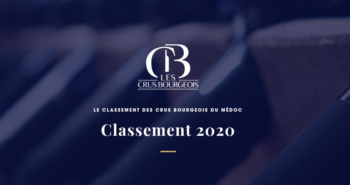 Classement-2020-des-Crus-Bourgeois-du-Médoc